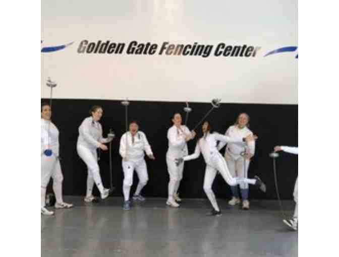 Golden Gate Fencing Center - One (1) Month Youth Fencing Classes - Photo 1