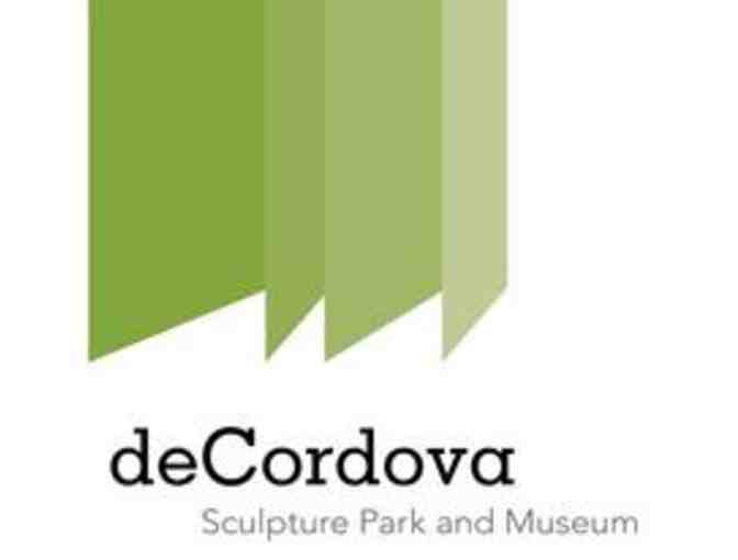 deCordova Sculpture Park and Museum - 1 pass good for 2 admissions - Value $28