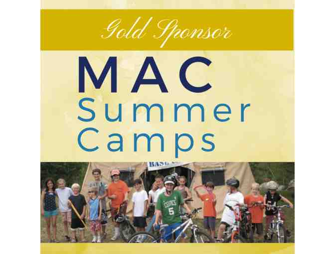 MAC Summer Camp - One week of summer camp - Value $350