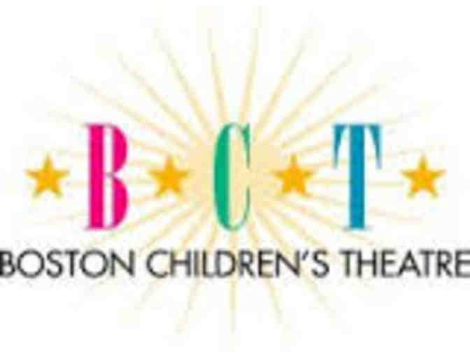 Boston Children's Theatre - 4 tickets to a show - value $130
