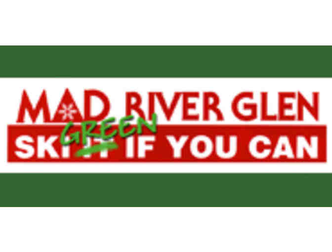 Mad River Glen - Two (2) Adult full-day lift passes - Value $178