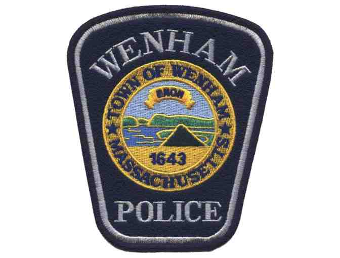Ride to School in a Wenham Police Car