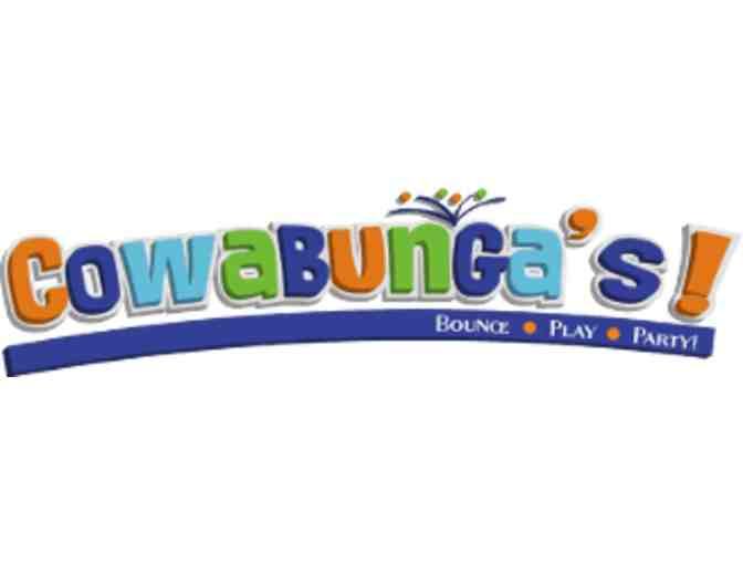 Cowabunga's Indoor Inflatable Playground:  4 Free Passes - Value $48