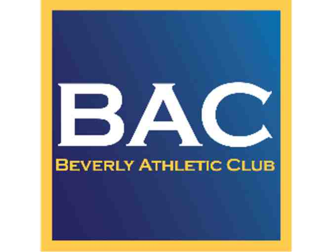 BAC-  3 one hour personal training sessions - Value $297