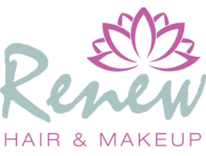 Renew Hair and Makeup - Wash, Cut and Dry plus Product - Value $75