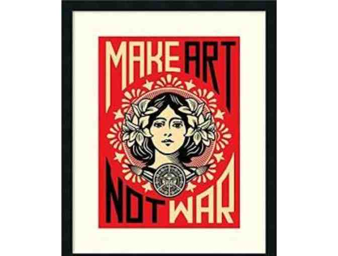 Make Art Not War - Value $250