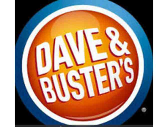 $25 'Be Our Guest' Gift Certificate for Dave & Buster's