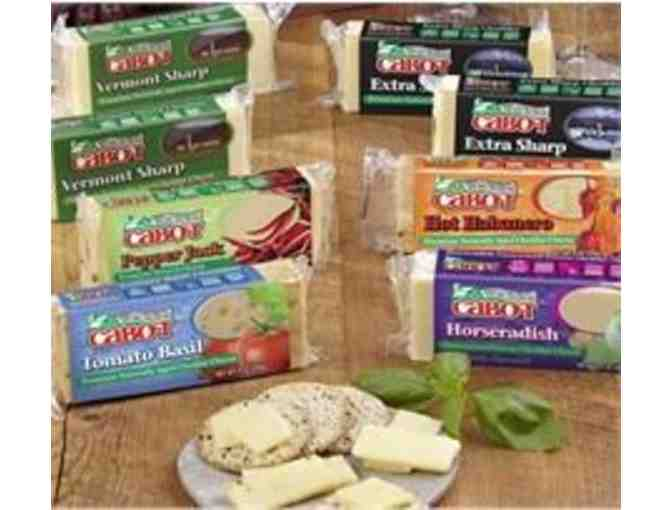 Cabot Cheese Cracker Cut Gift Box - Value $25
