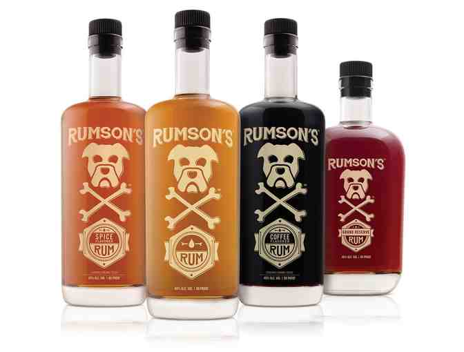 Rumson's Rum Basket - Value $160