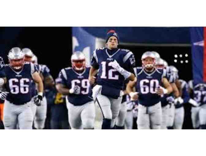 FIVE tickets to see Tom Brady and the New England Patriots at Gillette Stadium