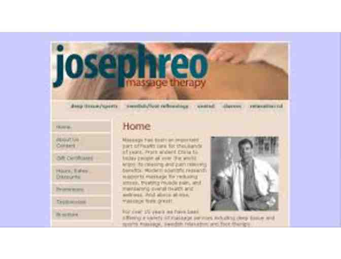 40 Minute Rejuvenating Foot Massage with Joseph Reo