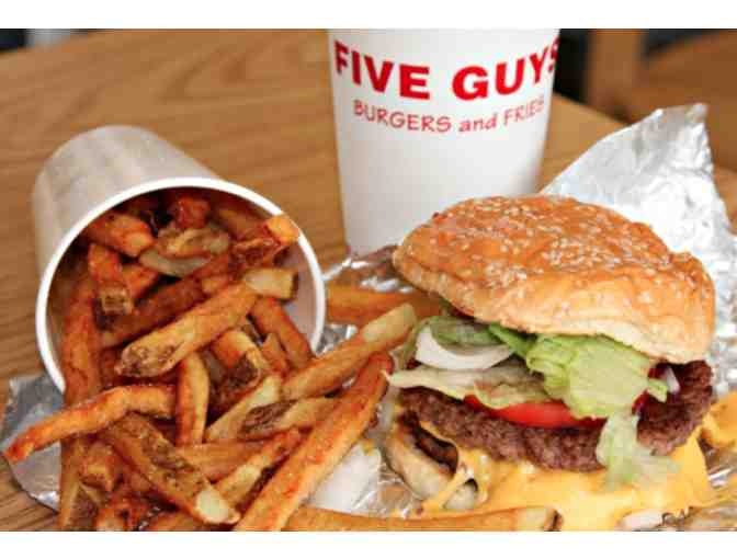 $25 Five Guys Gift Card