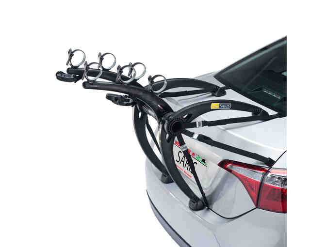 Bones 3-Bike Trunk Car Rack by Saris