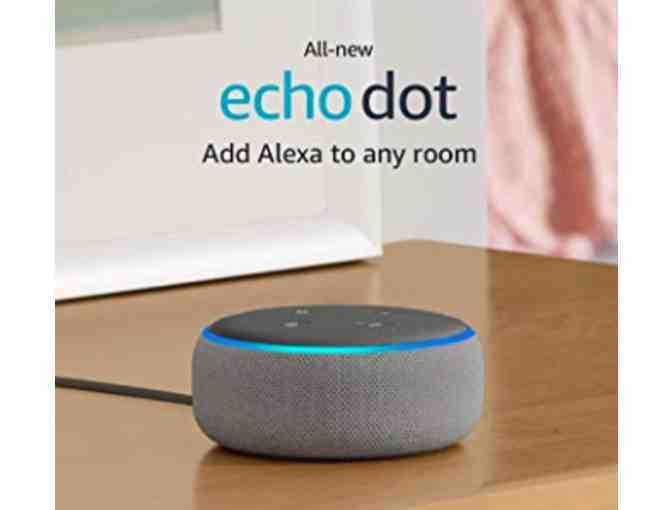 3rd Generation Echo Dot - Smart speaker with Alexa