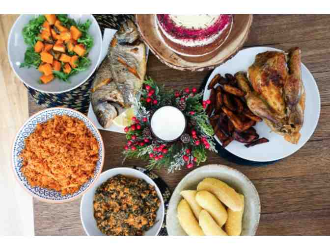 West African Dinner for Four from Fatou