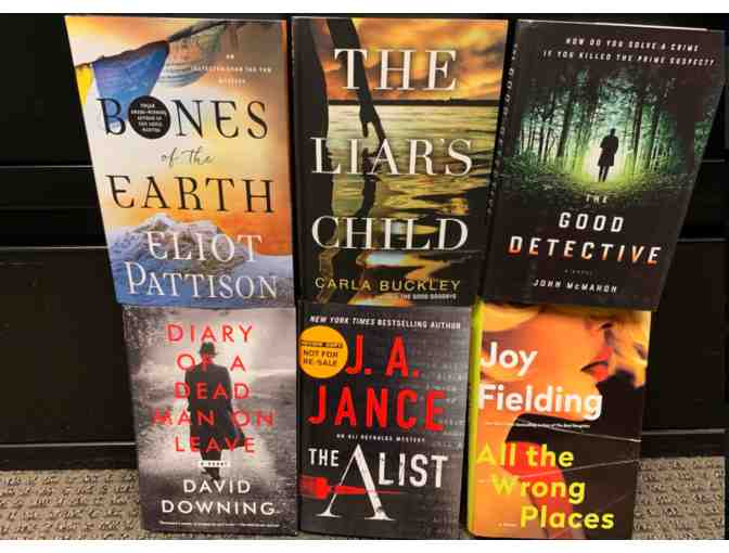 Collection of Six Thriller/Suspense Novels Curated by NPR Literary Critic Maureen Corrigan
