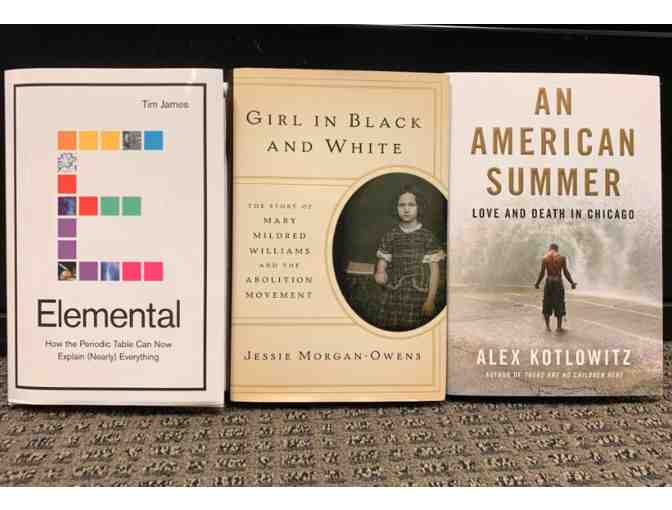 Collection of Three Non-Fiction Books Curated by NPR Library Critic Maureen Corrigan