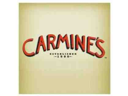 $100 Gift Card to Carmine's