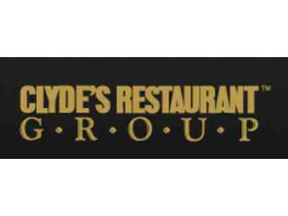 $100 Gift Certificate to Clyde's Restaurant Group