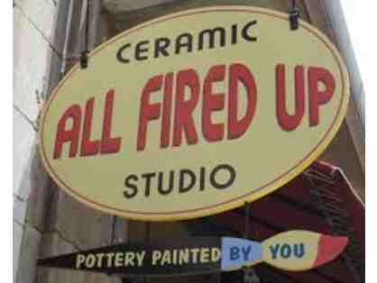 $25 Gift Certificate to All Fired Up