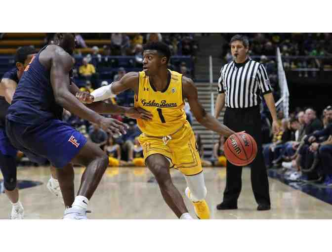 Cal Men's Basketball - 4 Home Opener Tickets + 4 FREE Tickets & Scoreboard Recognition - Photo 1