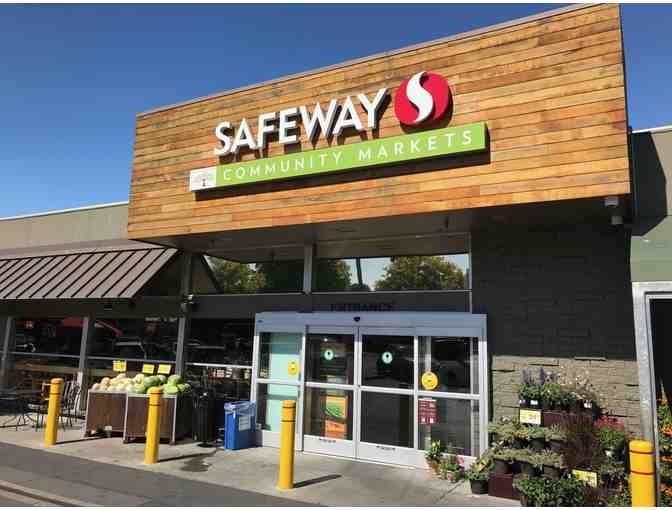 $500 Gift Certificate to Safeway Community Markets, four (4) free football tickets - Photo 1