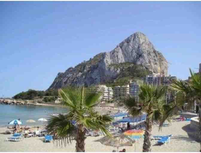 Calpe, Spain!  Villa for one week, now through Sept. 2017