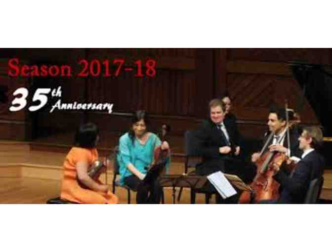 Boston Chamber Music Society - Season Subscription for Two!
