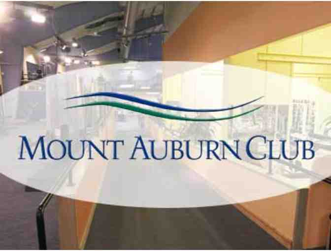 Mount Auburn Club:  60 Day Health and Wellness Membership and New Member Integration Pkg