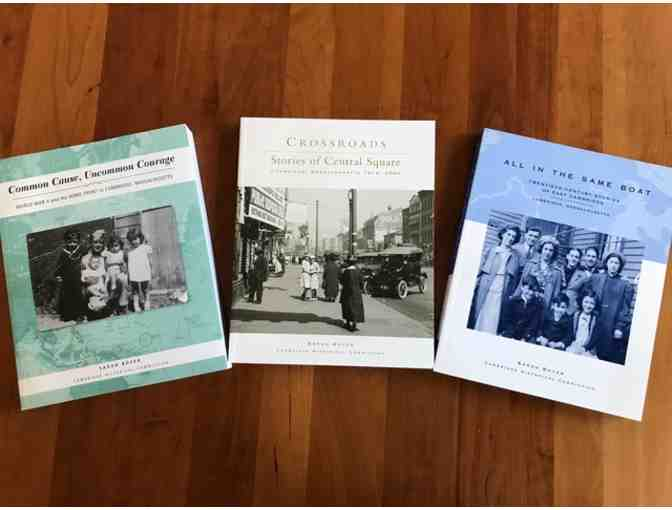 Cambridge Oral History: 3 books from the Cambridge Historical Commission