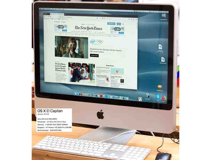 Apple iMac Desktop Computer (24', 2007)