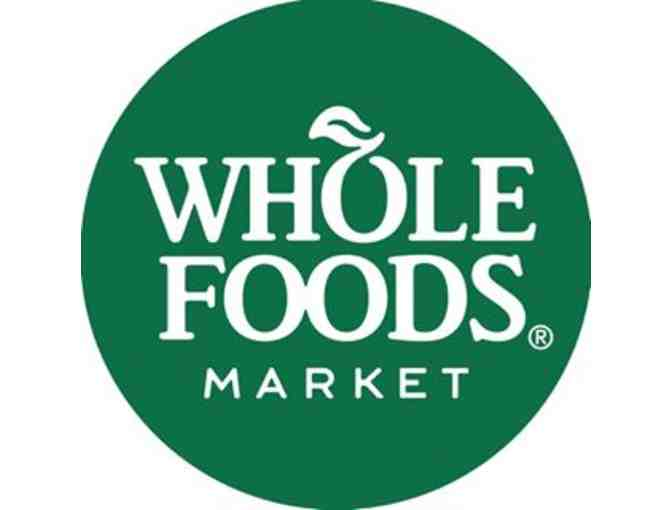 Whole Foods gift card - $100