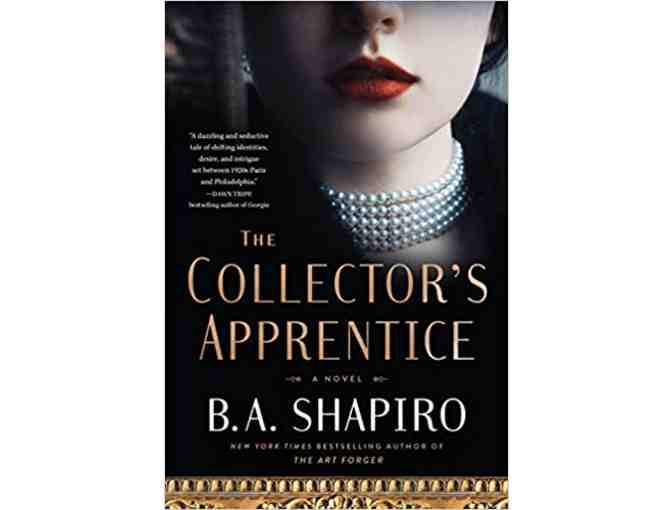 Three Autographed books by B.A. Shapiro