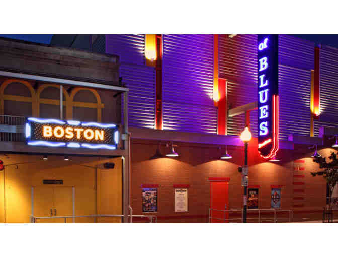 Two Tickets to The House of Blues in Boston