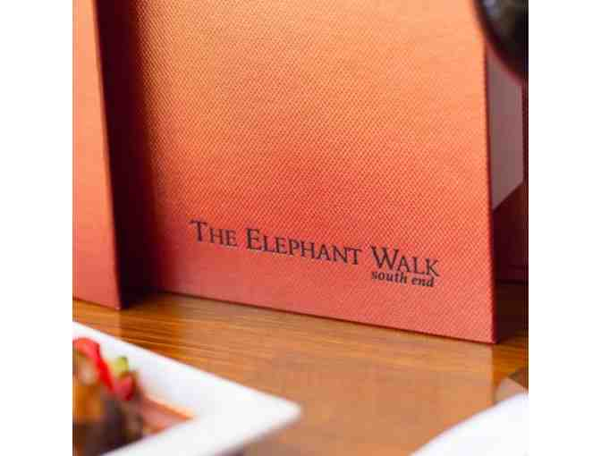 $100 Gift Certificate to the Elephant Walk South End Restaurant + two EW cookbooks