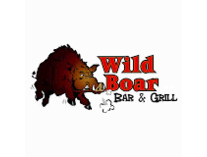 Wild Boar- $50 Gift Certificate - Photo 1