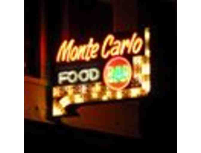 Monte Carlo Restaurant $100 Gift Certifcate - Photo 1