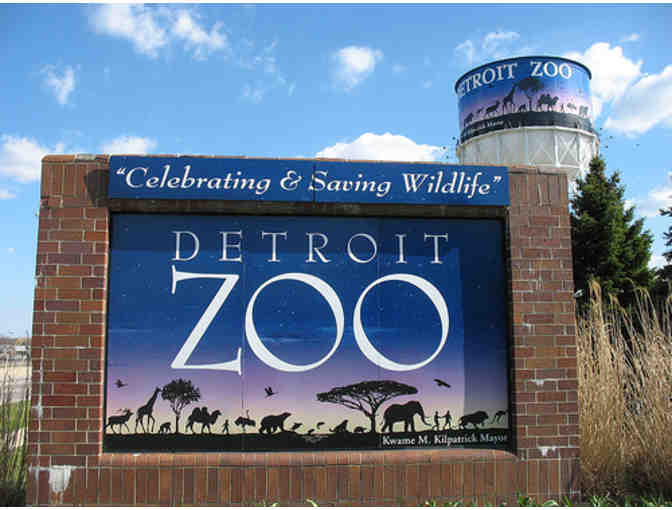 2 Adult Detroit Zoo tickets