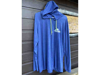 Camp Cavell Gear - Blue LARGE Long Sleeve