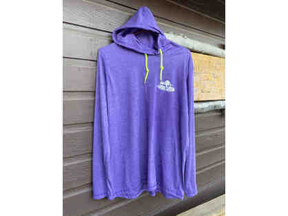 Camp Cavell Gear - Purple LARGE Long Sleeve