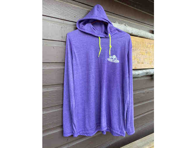 Camp Cavell Gear - Purple LARGE Long Sleeve - Photo 1