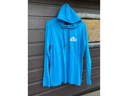 Camp Cavell Gear - Teal LARGE Long Sleeve