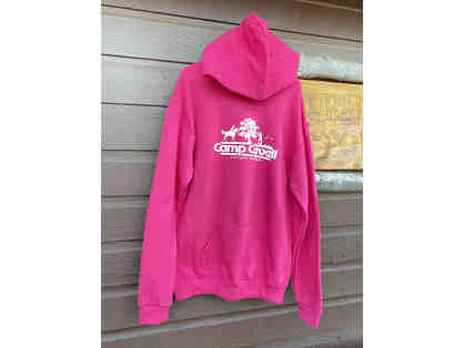 Camp Cavell Gear - Youth Pink LARGE Hoodie