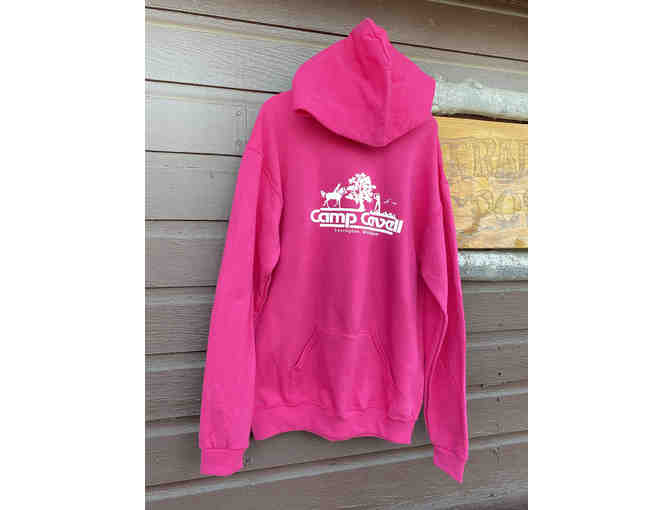 Camp Cavell Gear - Youth Pink LARGE Hoodie - Photo 1