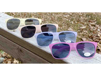 Camp Cavell Color Changing Frame Sunglasses - UV Protective Lens - BLUE