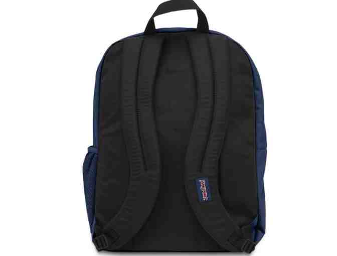 Blue Jansport Backpack