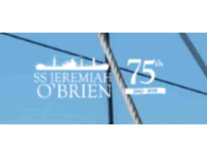 Family Pass to Tour SS JEREMIAH O'BRIEN - CA