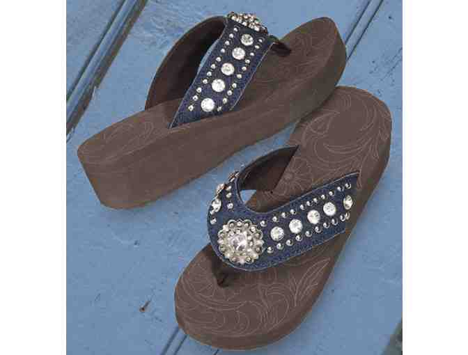 Rio Rancho Sandals - Bronze - Size 7