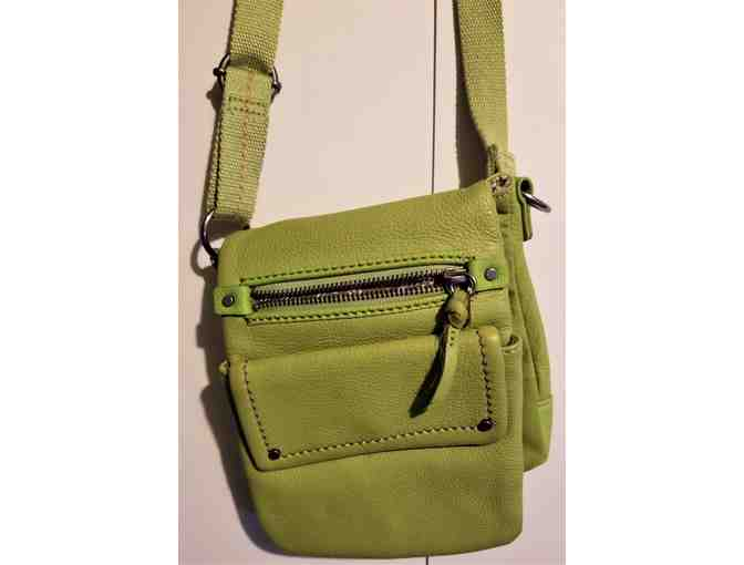 Small Crossbody Handbag - Lime Green from CLARKS