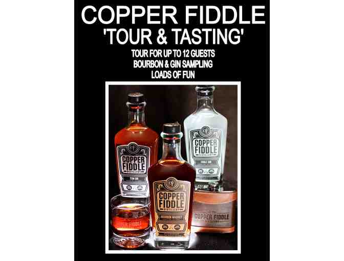 Copper Fiddle 'Tour and Tasting'